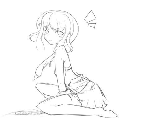 Anime Girl Body Template