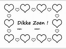 Kleurplaat Valentijn (Liefde)   3265