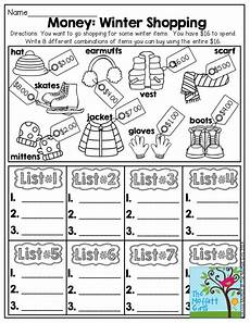 money shopping list worksheets 2221 17 best images about second grade on activities place values and math