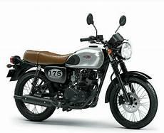 Modifikasi W175 Se by 4 Pilihan Warna Kawasaki W175 2018 Tipe Standar Dan Se