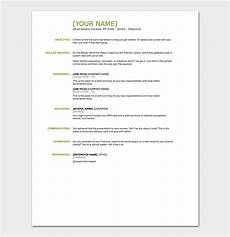 resume objectives 35 statements sles exles