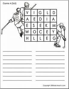 game search a word 5 5 hockey abcteach