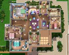 cool house plans for sims 3 looking for a colorful sims house here you are it is very