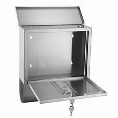 briefkasten mit zeitungsrolle briefkasten oslo edelstahldesign mit sichtfenster und