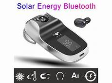 Mini Portable Wireless Bluetooth Earbuds Solar by Solar Energy Bluetooth V4 0 Wireless Earphone Mini