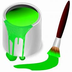 free clipart color bucket green frankes