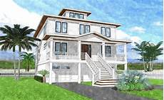 coastal house plans elevated halyard bay coastal home plans