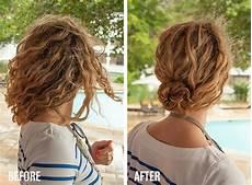 1 minute hairstyle braided bun in curly hair new video tutorial hair
