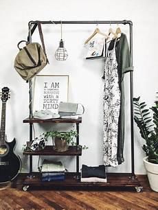 garderobe aus rohren selber bauen garderoben industrial kleiderst 228 nder stahlrohr mobil