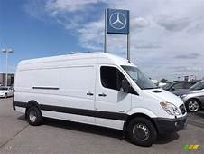 2012 Arctic White Mercedes Benz Sprinter 3500 High Roof