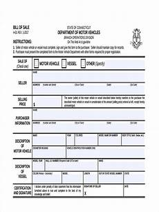 free 7 sle business bill of sale forms in pdf