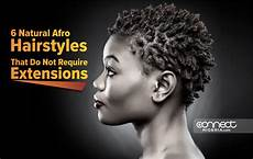 6 natural afro hairstyles that do not require extensions