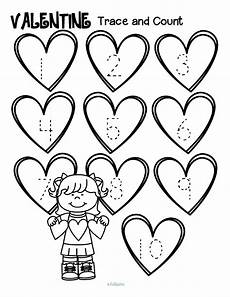 s day pre k worksheets 20384 free s day tracing numbers and counting 1 10 3 pages valentinesday