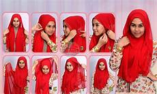 Cara Memakai Model Jilbab Pashmina Untuk Muka Bulat 2018