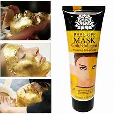 24k gold collagen whitening anti aging anti wrinkle face mask skin care peel off for sale online