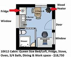 tiny house floor plans 10x12 image result for 10x12 cabin with loft plans shed with