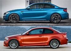 bmw m2 1 series m coupe compared