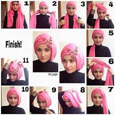 Tutorial Untuk Kebaya Yang Simple Kerudung Jilbab