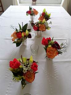 petit bouquet de fleurs pour table bouquet de fleurs centre de table