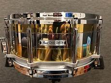 chad smith snare pearl chad smith tricolon snare drum 2015 drumfruit reverb
