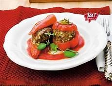 gefüllte paprika mit reis gef 252 llte paprika mit gem 252 se und reis rezept ichkoche at