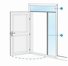 dimension standard porte d entrée pr 233 parer la pose d une porte d entr 233 e castorama