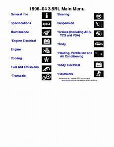 chilton car manuals free download 2000 acura rl parental controls 1996 acura rl service manual pdf