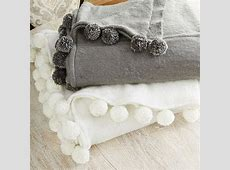 Moroccan Pom Pom Blanket   Bedroom   Home Goods   Maison