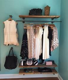Kleidung Aufbewahren Ohne Kleiderschrank - 48 quot floating shelves retail fixture rustic pipe shelf