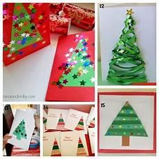 karten basteln weihnachten learn with play at home 25 card ideas can