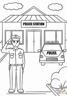 station coloring page free printable coloring pages
