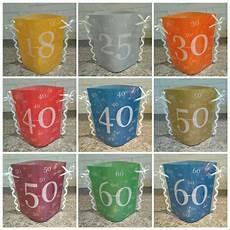 tischdeko 40 geburtstag geburtstag dekoration basteln
