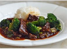 beef and broccoli with garlic sauce_image