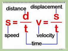 Velocity Formula It All
