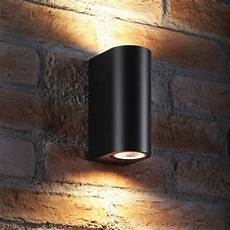 wall l up and down light fitting gu10 electro gadgets