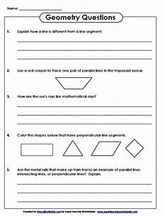 super teachers geometry questions worksheet education world