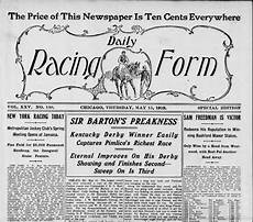 daily racing form thoroughbred racing global pinterest