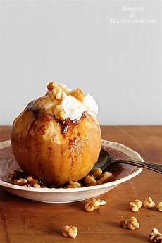 Bratapfel Rezept Klassisch - crockpot baked apple recipe house of hawthornes