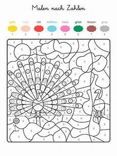Ausmalbilder Zahlen Und Farben Wenn Ihr Das Ganze Motiv Auf Der Kostenlosen Vorlage