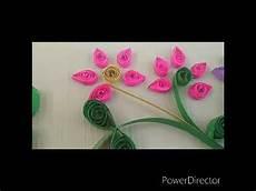 Gambar Bunga Dari Paper Quilling Untuk Memenuhi Tugas Seni