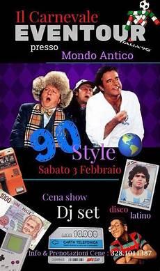 il mito degli anni 90 carnevale con eventour npc tv
