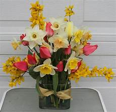 homemade floral preservative and spring daffodil arrangements sowing the seeds