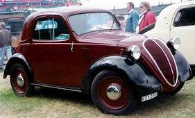 Fiat 500A Standard Coupe 1939  500 Topolino