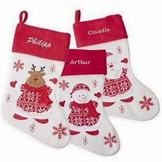 Nikolausstiefel Mit Namen - personalisierbarer weihnachtsstiefel aus filz mit