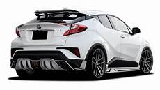 Toyota Chr Tuning - rowen international toyota c hr rr widebody tuning drive