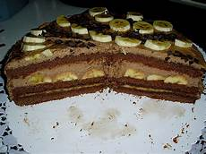 einfache schoko bananen torte chefkoch de