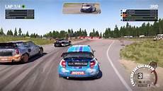 dirt 4 citroen ds3 rallycross gameplay pc hd