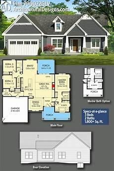 plan 89930ah 3 bedroom craftsman ranch craftsman ranch ranch home renovation plan 790022glv exclusive 3bed