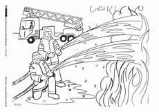 Ausmalbilder Zur Feuerwehr Feuerwehr Mit Bildern Feuerwehr Kinder Feuerwehr