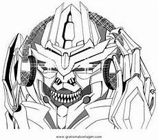 Malvorlagen Transformers In Transformers Megatron 1 Gratis Malvorlage In Comic